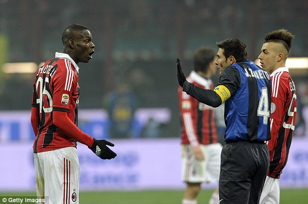 Balotelli vs Zanetti
