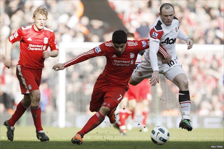 Suarez déménage Rooney