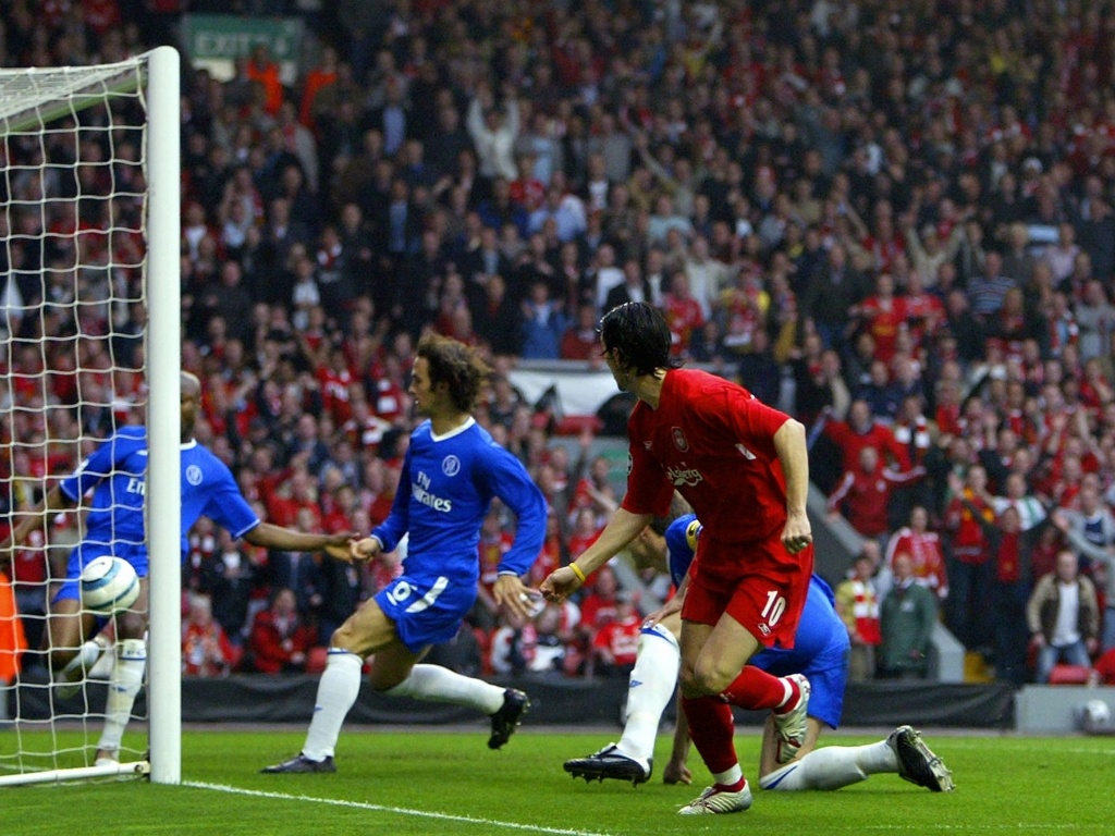 Luis Garcia contre Chelsea