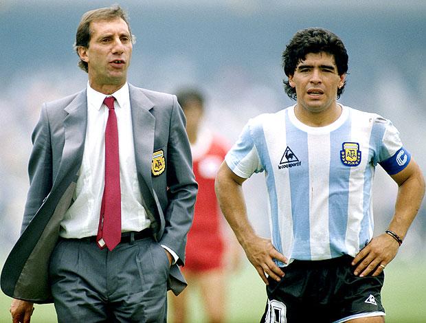 Bilardo et Maradona