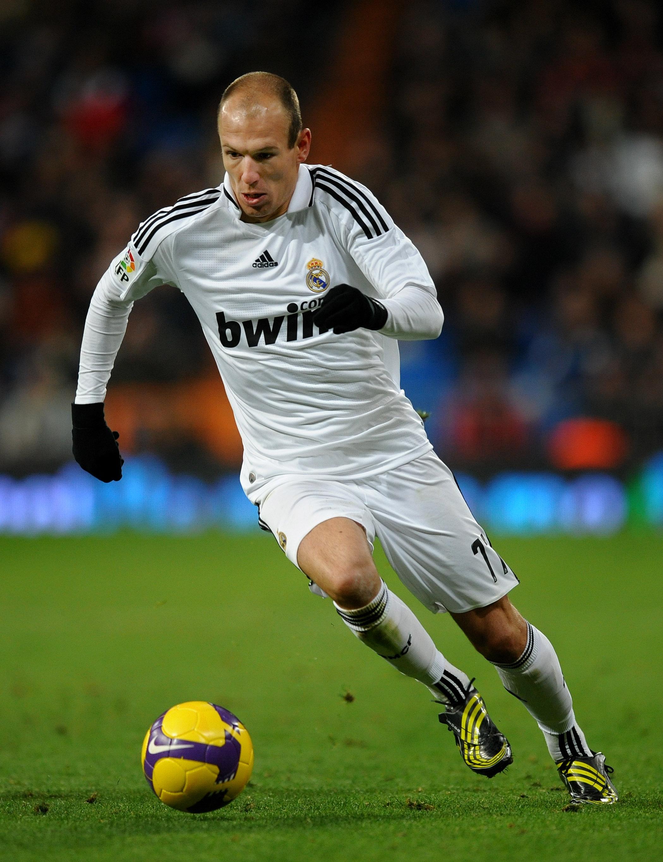 Robben à Madrid
