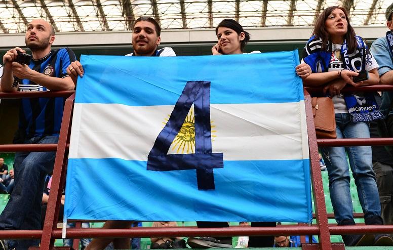 Hommage a  Javier Zanetti